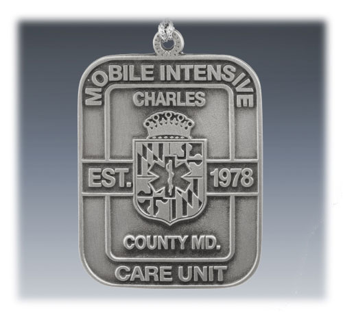 Custom Pewter First Responders Ornament