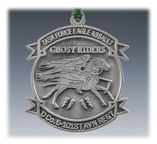 Custom Pewter Ornament Military Task Force
