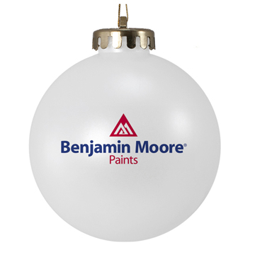 2-Color Logo Custom Ornament