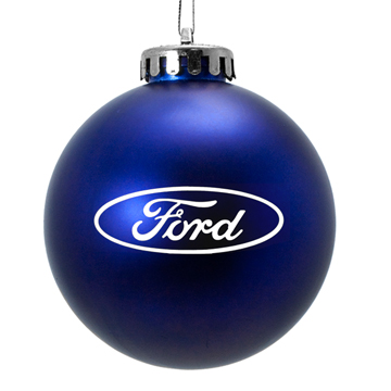 Custom Acrylic Promotional Ornament Blue