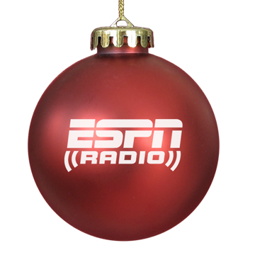 Custom Promotional Acrylic Ornament Red
