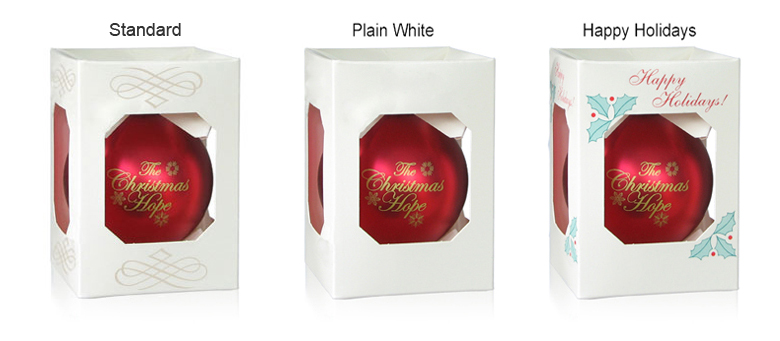 Acrylic Ornament Boxes