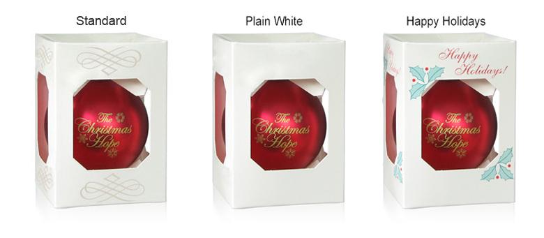 Acrylic Ornament Boxes