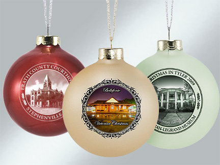 Custom Glass Ornaments | Howe House Limited Editions