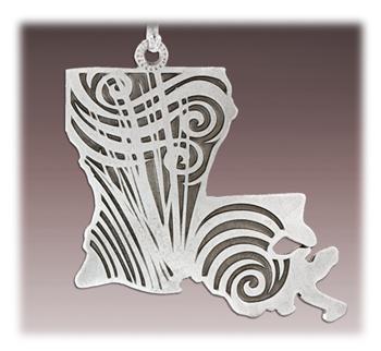 Custom Zinc Alloy Ornament
