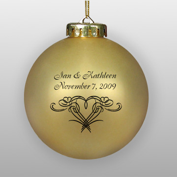 Wedding Favor Ornaments