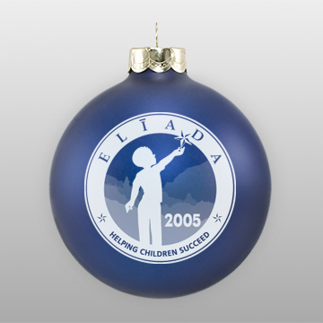 Custom Glass Fundraising Ornament