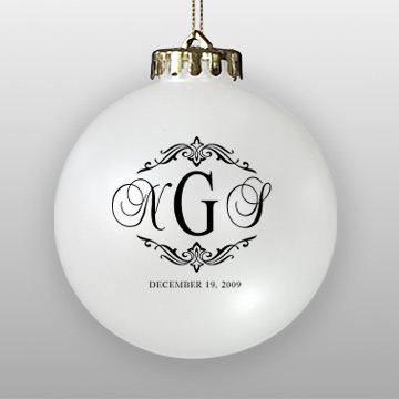 Personalized Wedding Ornaments | Howe House Limited Editions