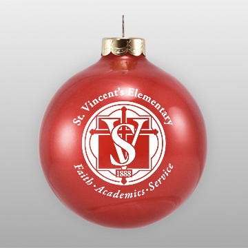 school fundraising christmas ornament