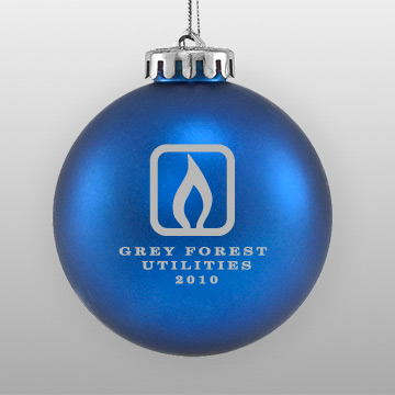 Custom Logo Promotional Ornament