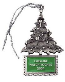 Custom Pewter Stock Design Christmas Tree