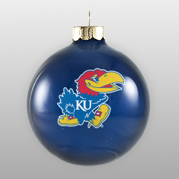Custom University Alumni Glass Ornament