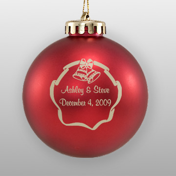 Personalized Wedding Favor Ornaments Howe House Limited Editions